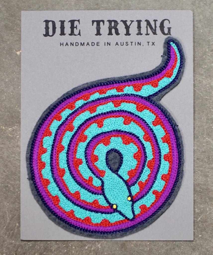 Die Trying | Snake Patch