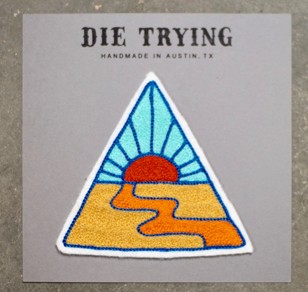 Die Trying | Open Road Patch