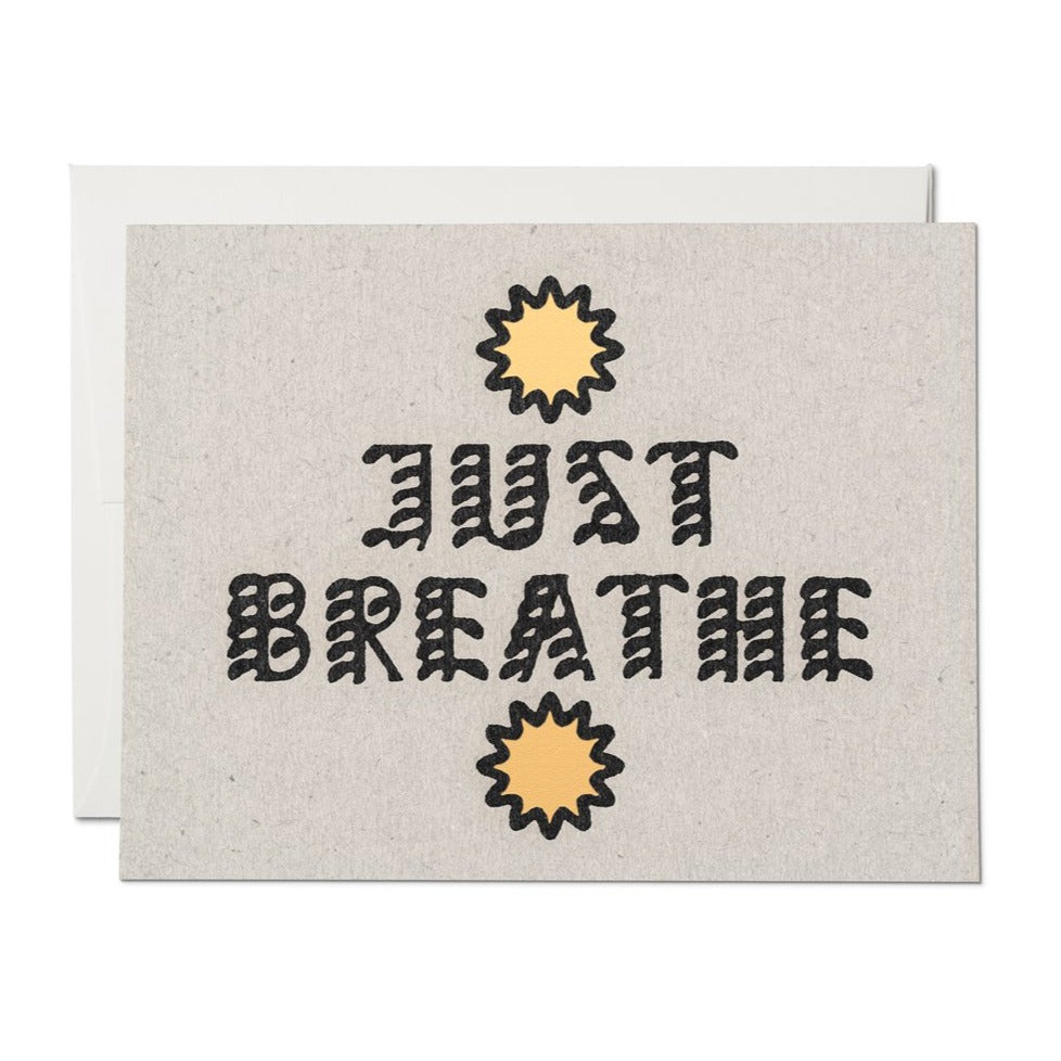 Card | Just Breathe