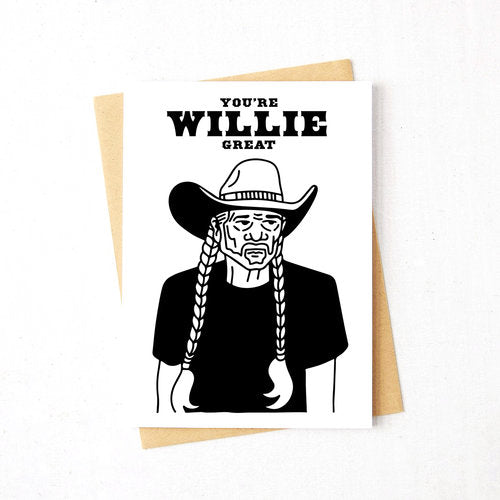 Willie Great Card