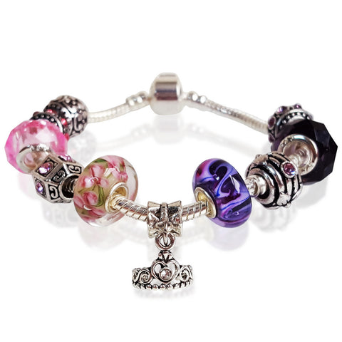 Her Majesty Bracelet in Cherry Blossom