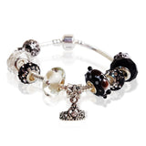 Her Majesty Bracelet in Black, White and in Between
