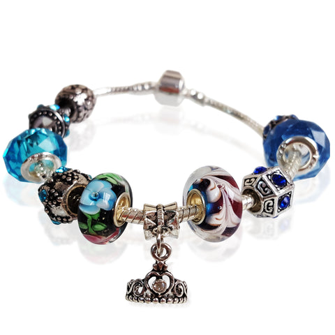 Her Majesty Bracelet in Midnight Blue