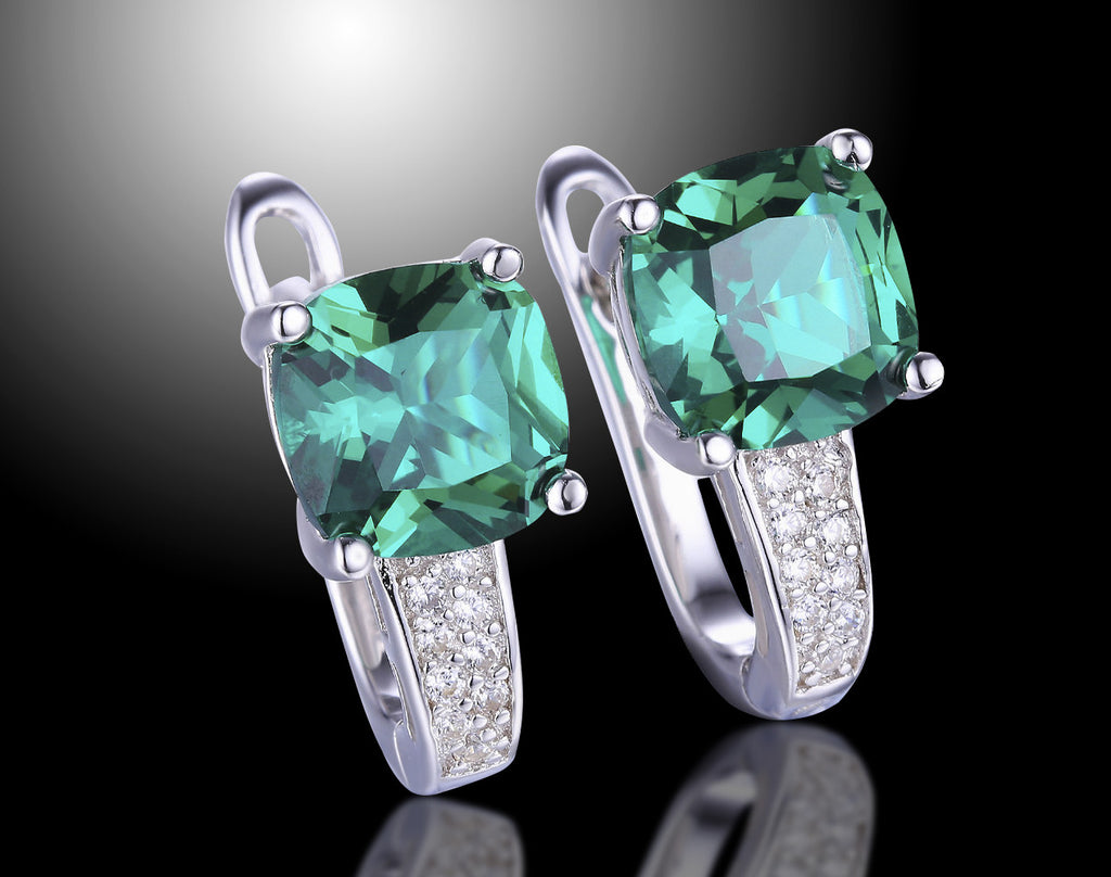 cushion treated il rose images rings set cut emerald engagement ring fullxfull search