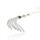 Classic Fresh Water Pearl Tassel Necklace