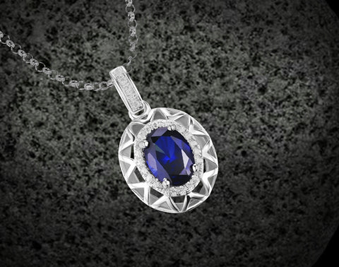 image sapphirependant blue yellow sapphire saphire yg shyne gold men pendant s diamond mens
