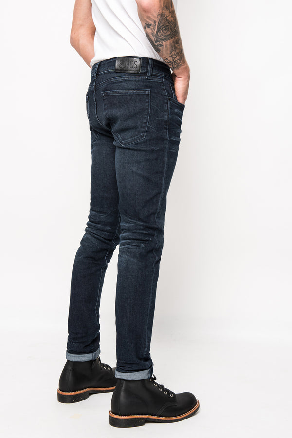 Nikki skinny jeans mens denim blue black superjeans of sweden 991612