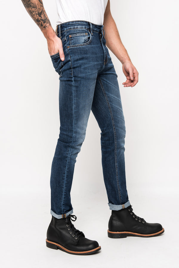 Philip slim fit denim jeans stretch superjeans of sweden acne tiger jeans Sweden