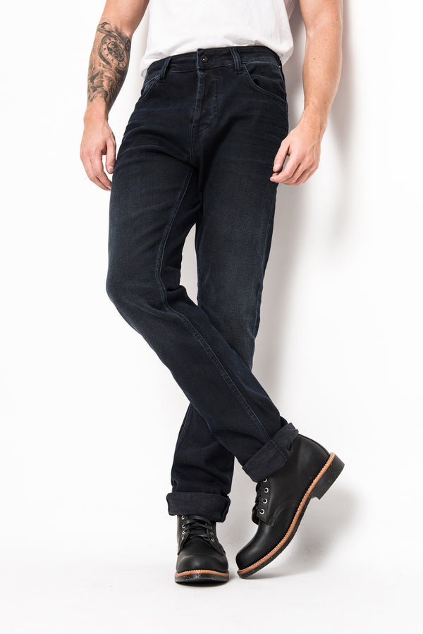Pontus regular tapered superjeans of Sweden over dye acne tigerjeans sjos