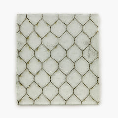 Chicken Wire Glass Coasters