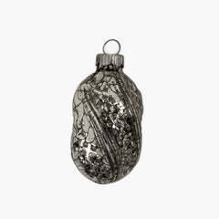 Silvered Glass Ornament