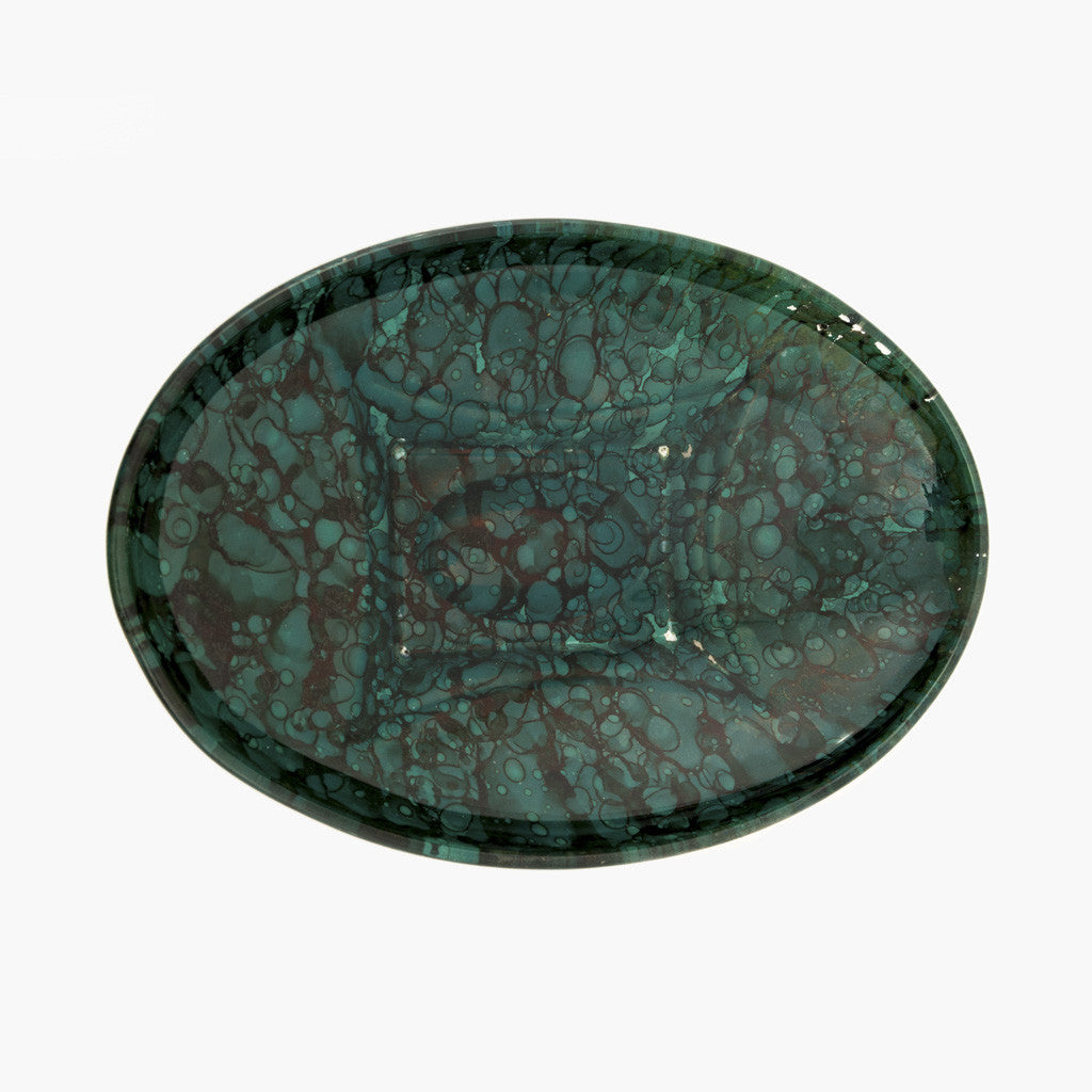 Malachite Candy Dish