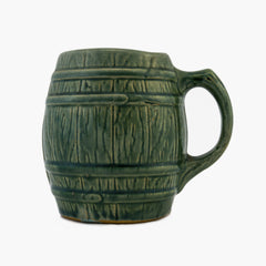 McCoy Art Pottery Barrel Mug