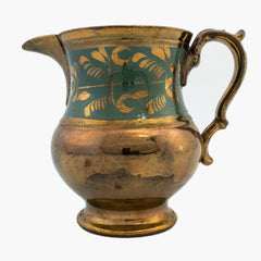 Circa 1880 Lusterware Pitcher