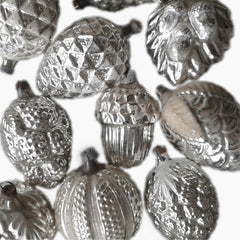 Silver Ornament Collection