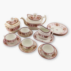 1880's Lustreware Tea Set