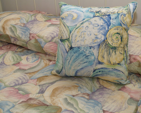 Shell Bedspreads, 2 Colors