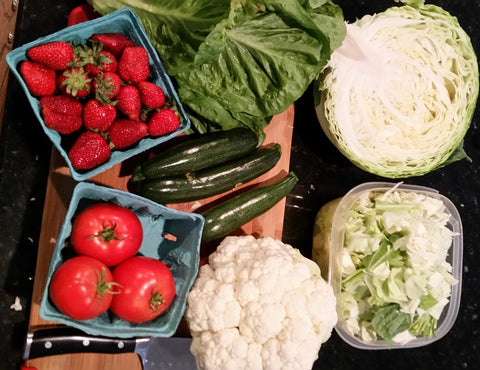 Putnam Family Farm CSA Box, supplier to Chef and the Farmer, Vivian Howard