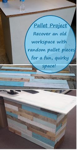 Pallet project, updating a desk