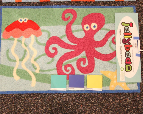 Undersea Friends Jellybean Rug