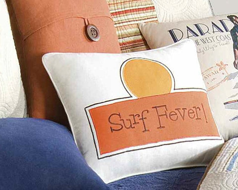 Endless Summer Surf Fever Pillow