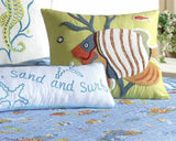 Sun, Sand, and Surf Pillow