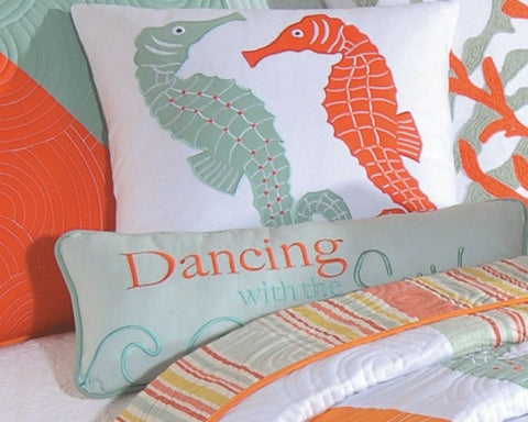 Dancing with the Surf Pillow