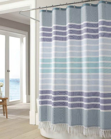 purple and teal shower curtain. Bodrum Shower Curtain Curtains in stripes and coastal prints  fabric gorgeous