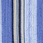 Blues Stripes Quilt Set