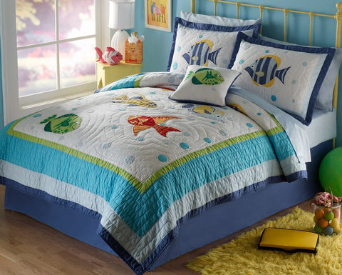 Colorful-Sea-Quilt-Set