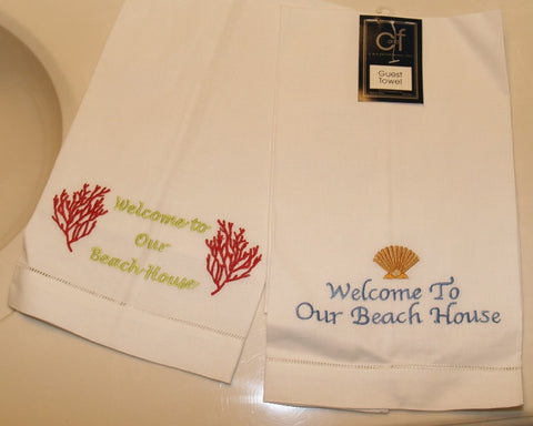 Welcome to the Beach Guest Towel