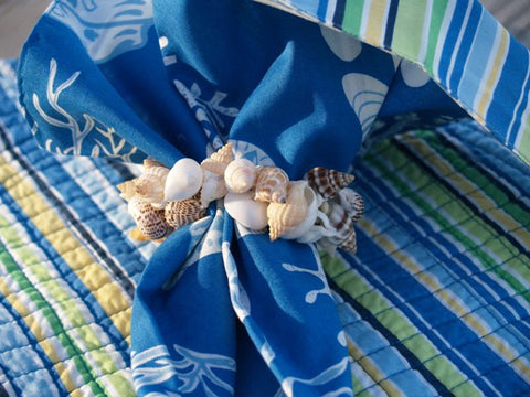 Seashells Napkin Ring