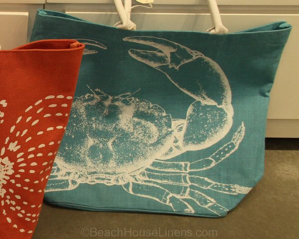 Mud Pie S Ligfhtweight Printed Jute Beach Totes Have Soft