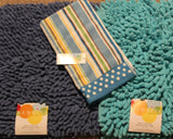 Bambini Blue and Aqua Rugs