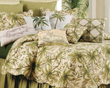 Barbados Sand Quilted Coverlet