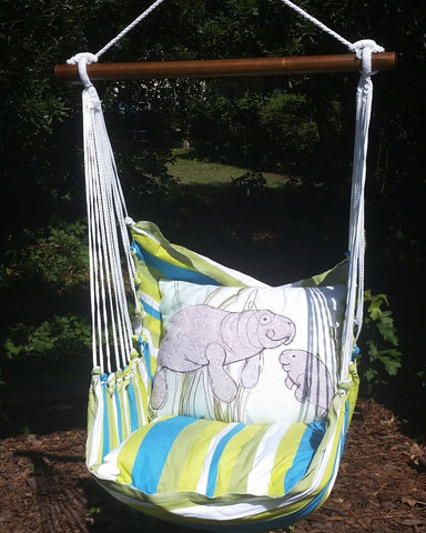 Manatees Hammock Swing Set