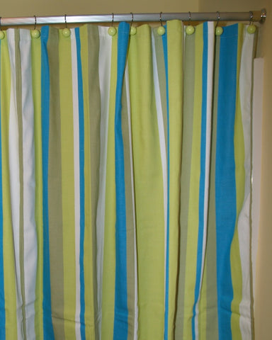 Beach Boulevard Shower Curtain