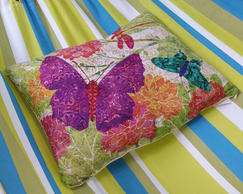 Purple Butterfly Indoor/Outdoor Pillow