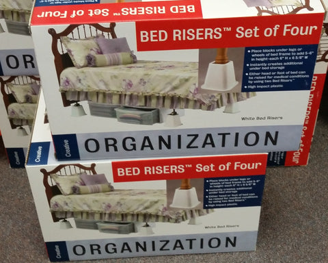 Bed Risers, Set of 4