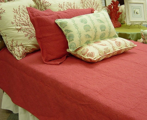 Blush Square Quilted Sham