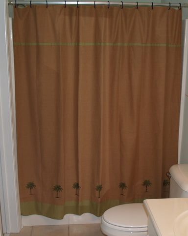 Cabana Palm Shower Curtain