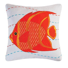 Orange Tropical Applique Fish