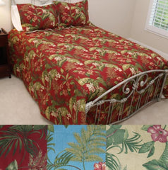 Tropical Palm Bedspread