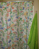 Cayman White Shower Curtain
