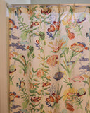 close up Cayman White Shower Curtain