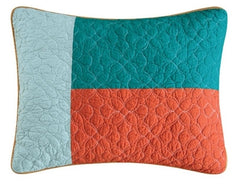 Coral Gables Pieced Standard Sham