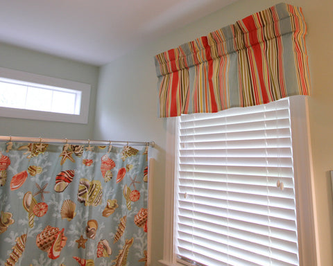 Deck Chair Stripe Valance