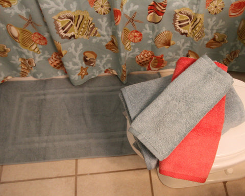 MicroCotton Coral Towel