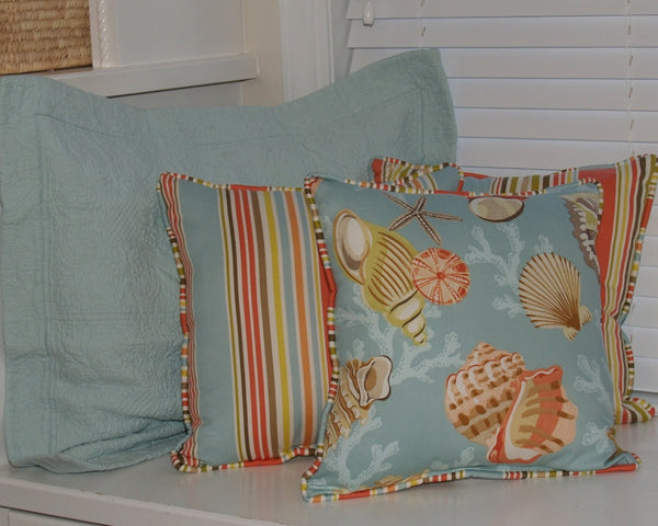Coralbeach Deckch Bl Beach House Linens