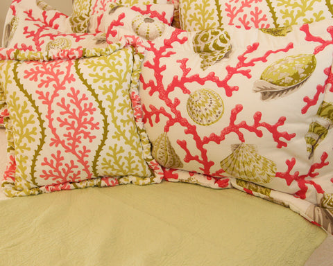 Apple Square Quilted Coverlet